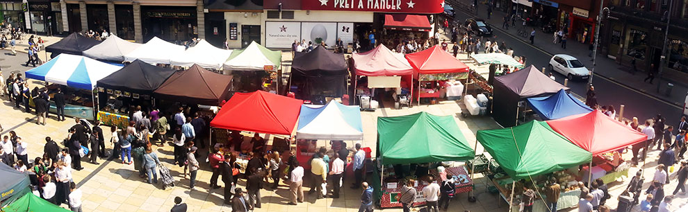 Hammersmith Market at Lyric Square