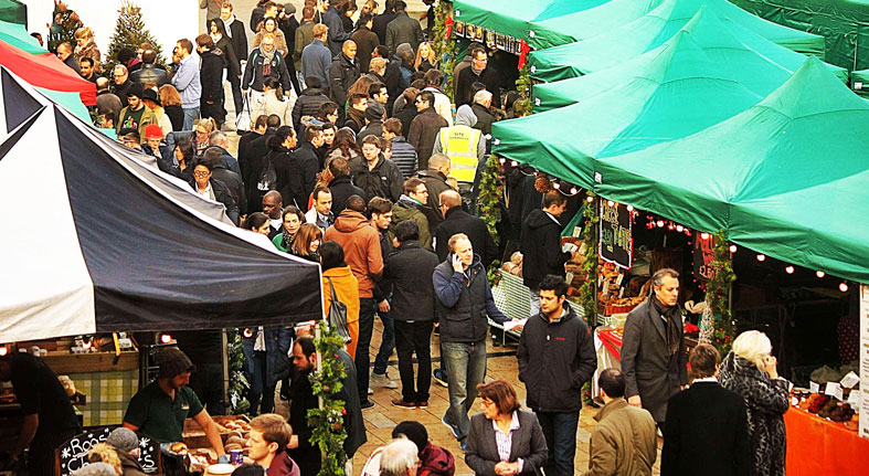 Christmas at Hammersmith Farmers' Market