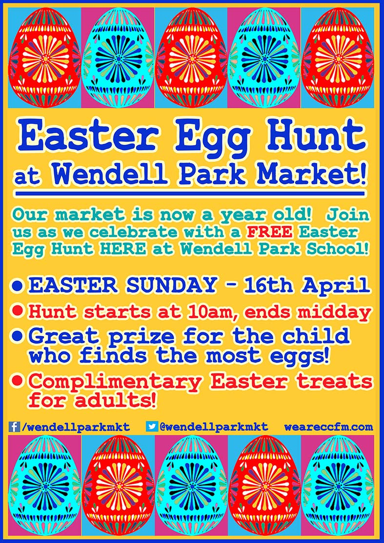Easter fun at Herne Hill Market
