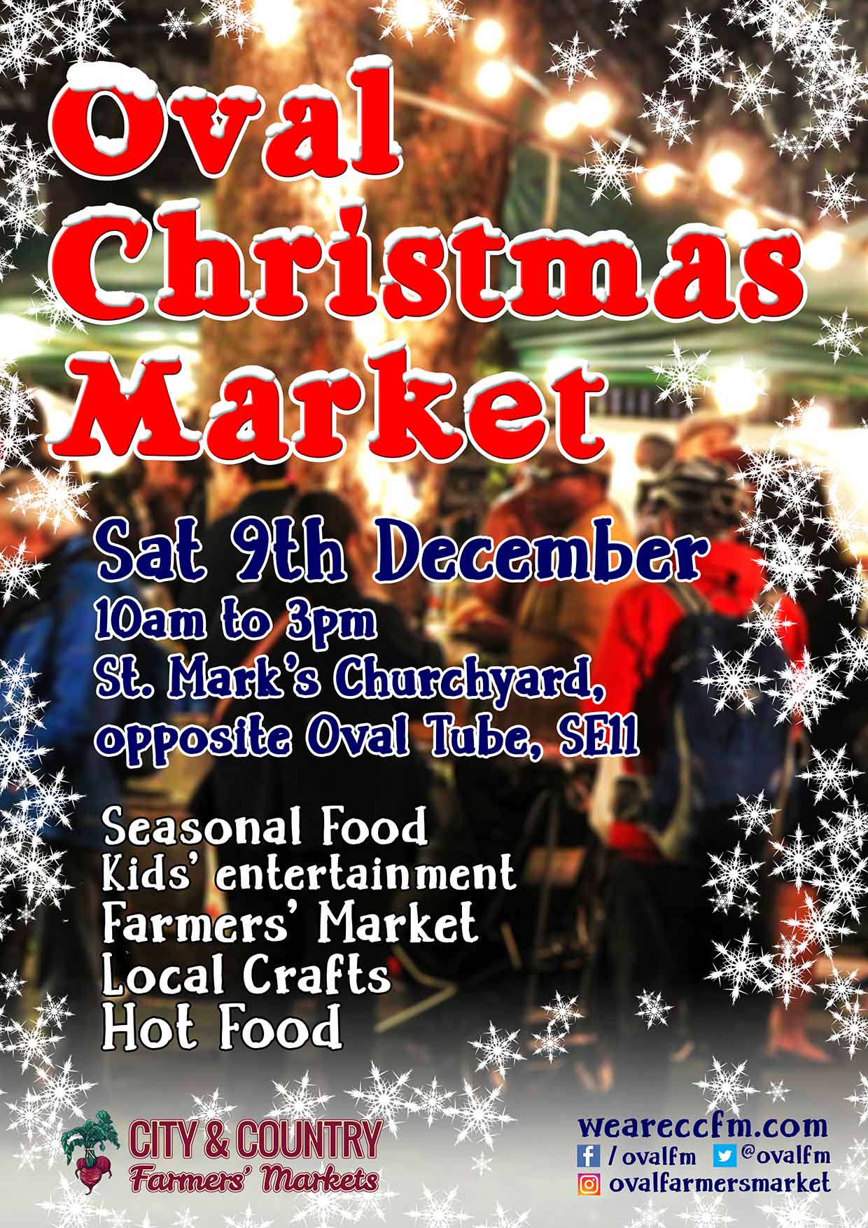 Christmas at Oval Market
