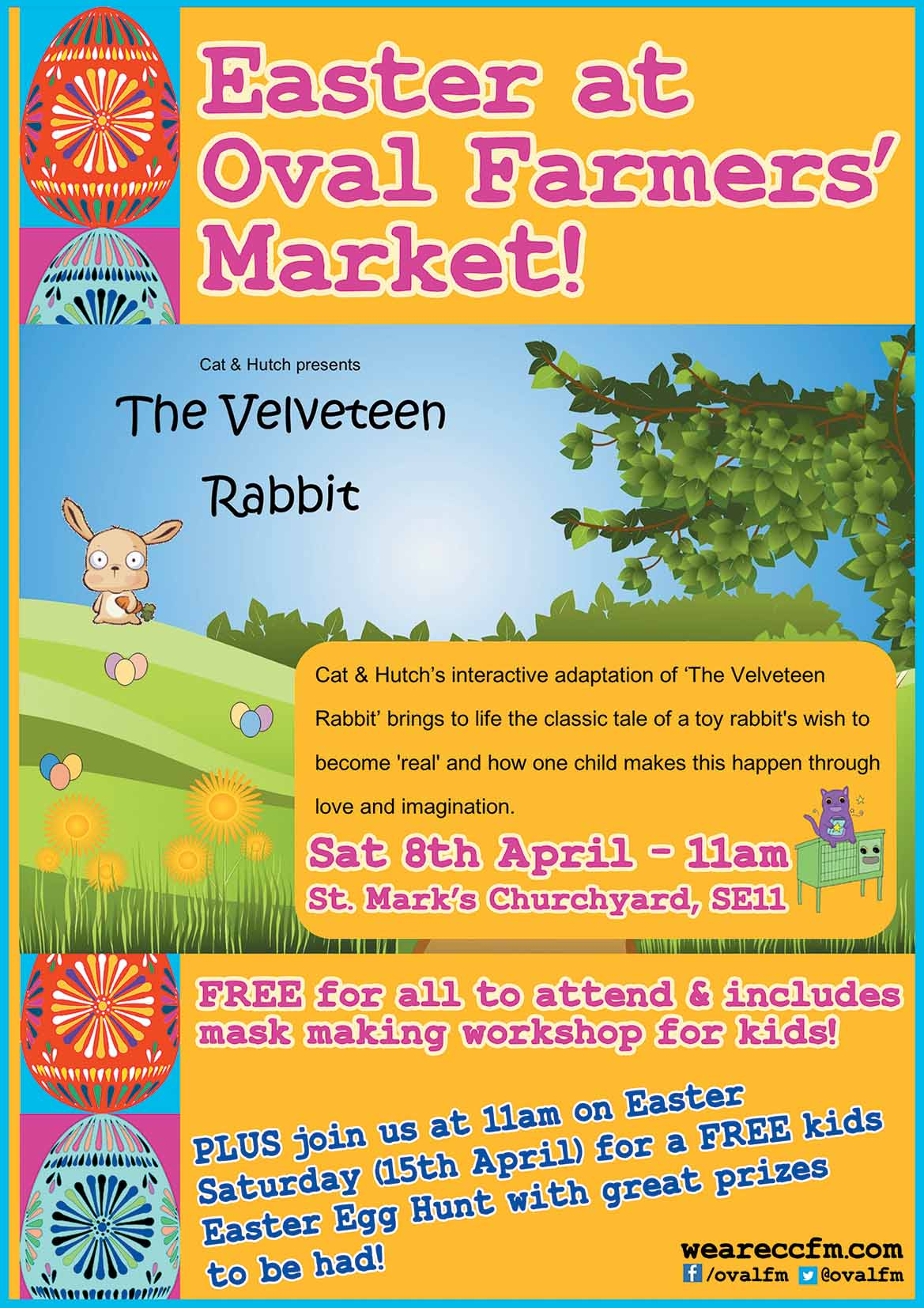 Easter fun at Oval Market