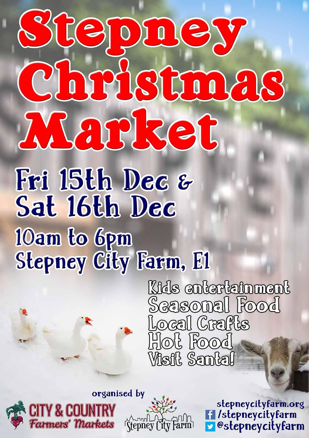 Christmas at Stepney