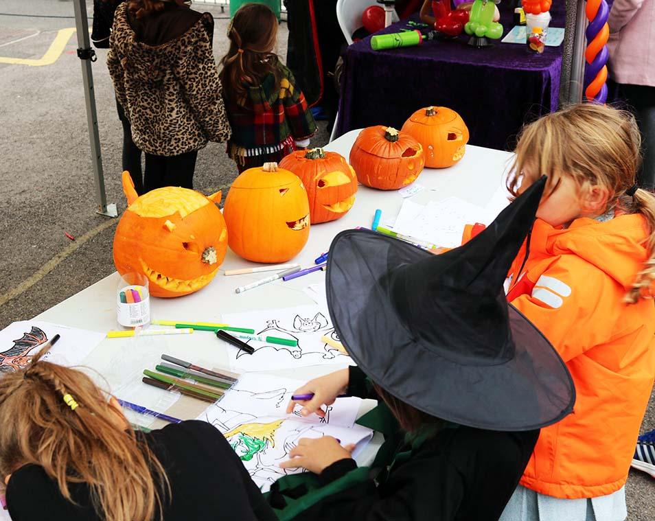 A Farmers' Market Halloween!